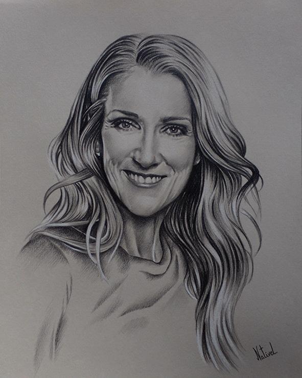 Céline Dion por AurelieNativel